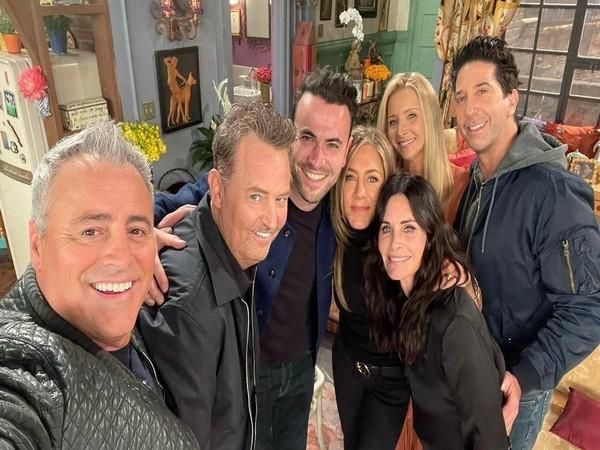 Lead actors of Friends (Image source: Instagram)