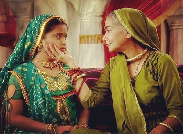 Still of late actor Surekha Sikri and Avika Gor from 'Balika Vadhu' (Image source: Instagram)