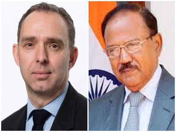 UK NSA Mark Sedwill and Indian NSA Ajit Doval (file photo)