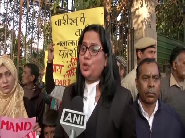 Seema Kushwaha, lawyer for the victim's family speaking to ANI in New Delhi on Thursday. Photo/ANI