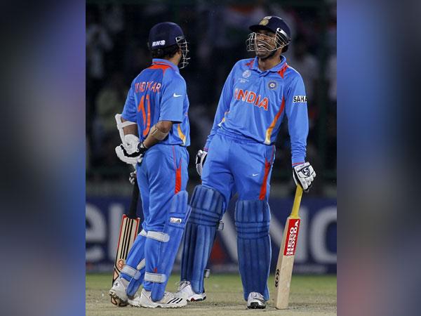 Former India batsmen Sachin Tendulkar and Virender Sehwag
