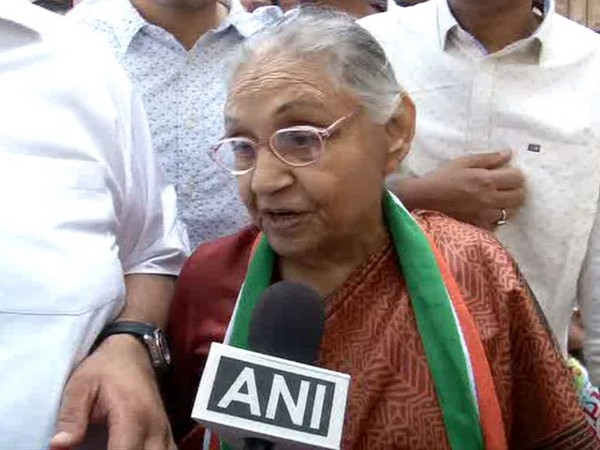 Congress Delhi Cheif Sheila Dikshit speaking to ANI on Sunday
