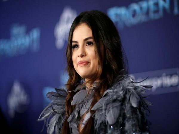 Singer Selena Gomez