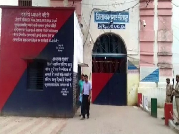 CBI team seen leaving Sitapur jail after interrogating Sengar for the second consecutive day on Sunday. Photo/ANI