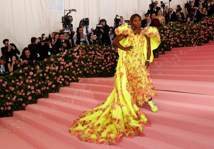 Serena Williams at the 2019 Met Gala red carpet