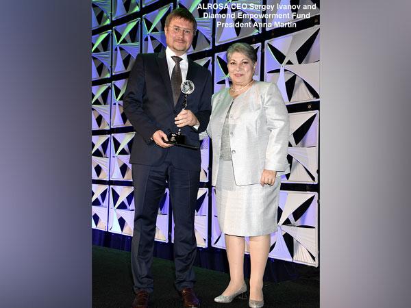 ALROSA CEO Sergey Ivanov receives 2019 Diamonds Do Good Award