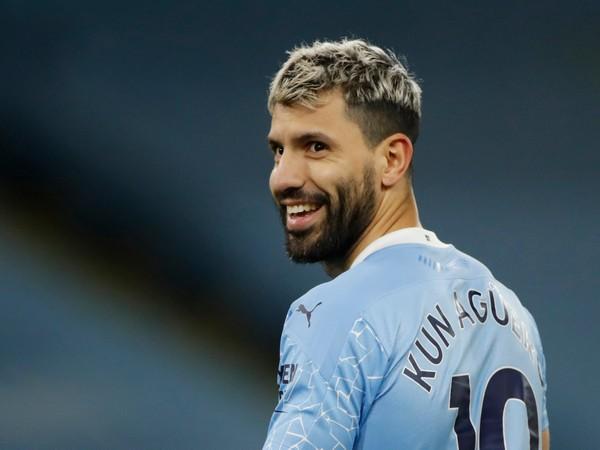 Manchester City striker Sergio Aguero (file image)