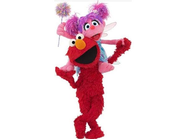 Sesame Street Muppets - Elmo and Abby Cadabby