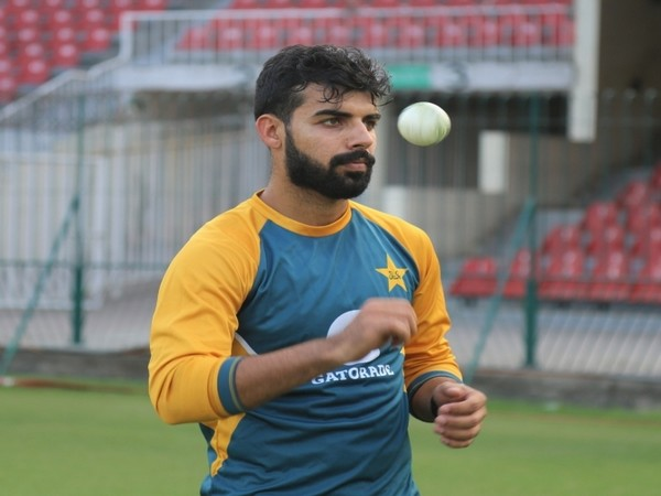 Shadab Khan was ruled out of the South Africa and Zimbabwe series after suffering a left toe injury. (Photo/ PCB Media Twitter)