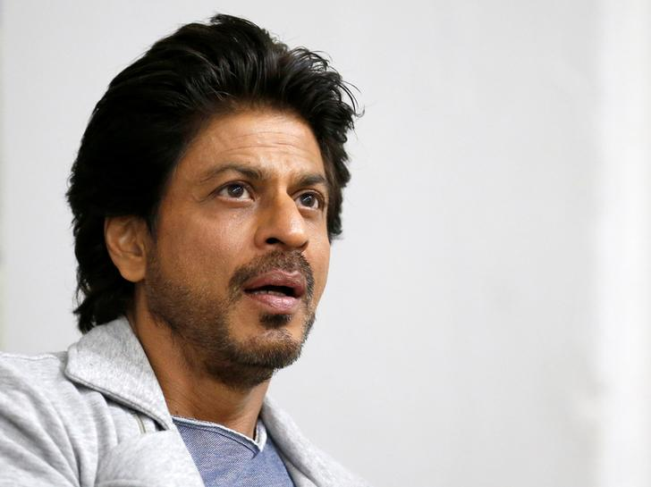 Shah Rukh Khan during an interview with Reuters in Mumbai