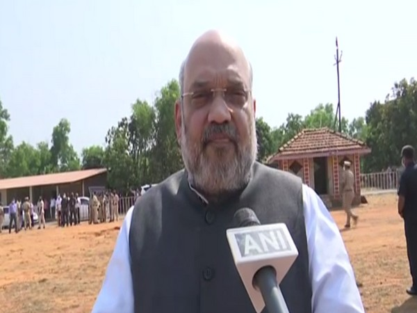 Union Home Minister Amit Shah talking to ANI on Sunday.