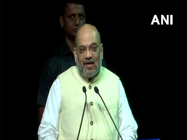 Union Home Minister Amit Shah at the event in New Delhi on Tuesday. Photo/ANI
