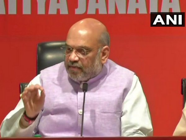 BJP president Amit Shah (File photo/ANI)