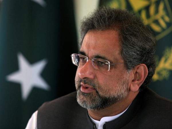 Former Pakistan Prime Minister Shahid Khaqan Abbasi