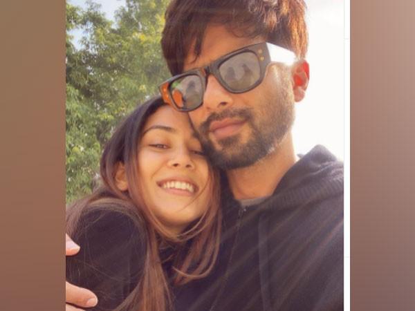 Celebrity couple Shahid Kapoor and Mira Kapoor (Image Source: Instagram)