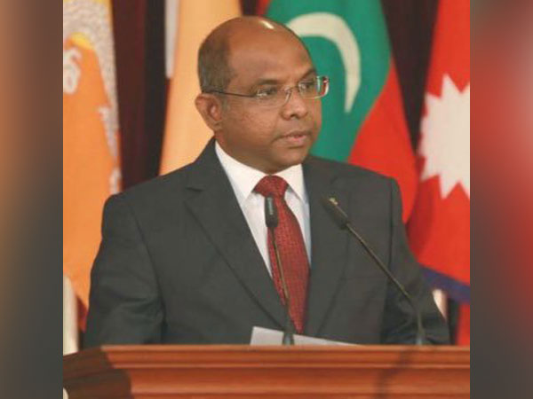 Maldives Foreign Minister Abdulla Shahid (Twitter/Abdulla Shahid)