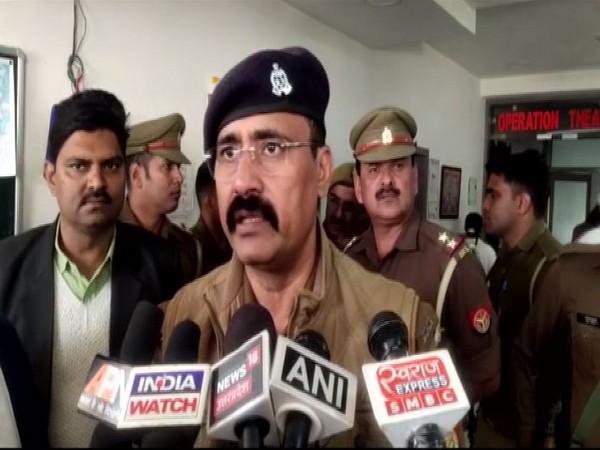Superintendent of Police Dinesh Tripathi speaking to ANI on Monday.