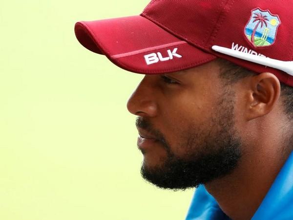 West Indies wicket-keeper batsman Shai Hope