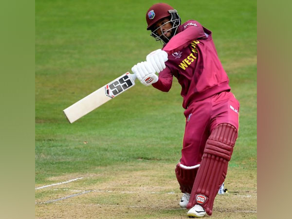 Shai Hope in action against new Zealand (Photo/West Indies Cricket Twitter)