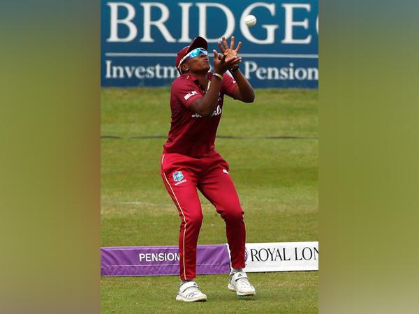 West Indies' Shakera Selman