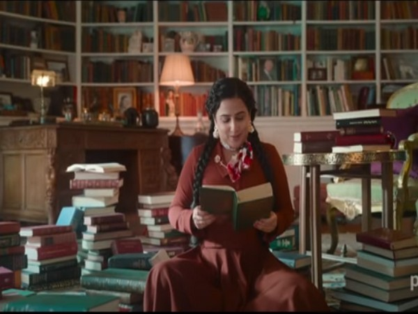 Actor Vidya Balan in a still from the trailer of 'Shakuntala Devi' (Image Source: YouTube)