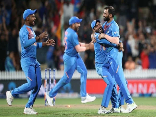 With this victory, India has gained an unassailable lead of 3-0 in the five-match T20I series. (Photo/ Ravindra Jadeja Twitter)
