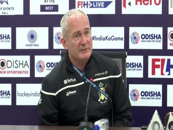 Belgium men's hockey team coach Shane Mcloed