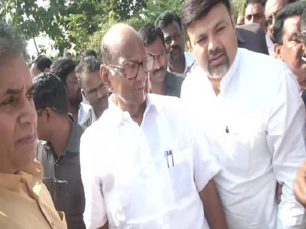 NCP chief Sharad Pawar at Nagpur on Thursday.
