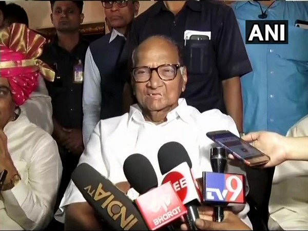 Nationalist Congress Party chiefSharad Pawar (File Pic)