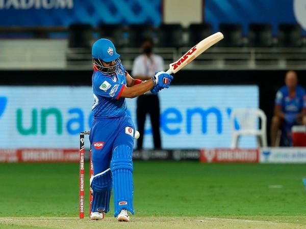 Delhi Capitals batsman Prithi Shaw (Photo/IPL Twitter)