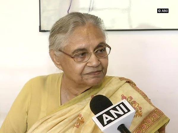 DPCC president Sheila Dikshit [File Photo/ANI]