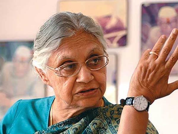 File photo of Sheila Dikshit