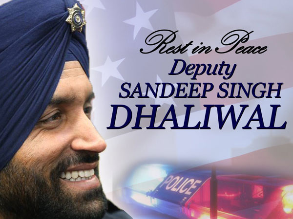Deputy Sheriff Sandeep Dhaliwal (File photo)