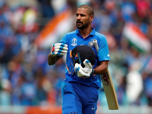 India A batsman Shikhar Dhawan