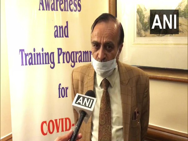 Mohinder Seth, President of Tourism Industry Stakeholders Association speaking to ANI. (Photo/ANI)