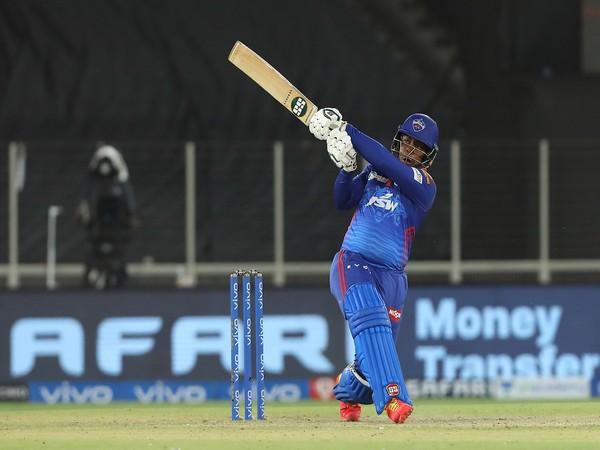 Delhi Capitals batsman Shimron Hetmyer (Photo/ IPL Twitter)