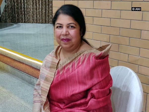 Speaker of Bangladesh Parliament Shirin Sharmin Chaudhury in New Delhi. ANI Photo
