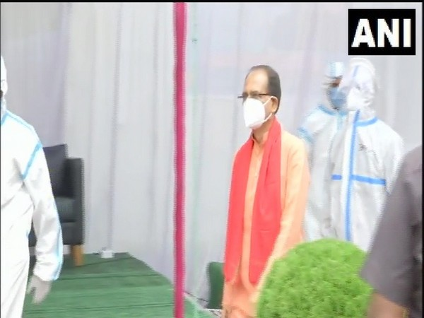 Madhya Pradesh Chief Minister Shivraj Singh Chouhan discharged from the hospital in Bhopal on Wednesday. (Photo/ANI)