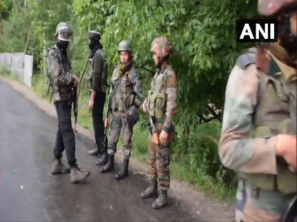 Visuals from the encounter site in Shopian, Jammu and Kashmir.