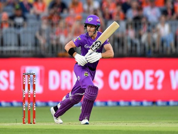 Hobart Hurricanes' batsmen D'Arcy Short (Photo Big Bash League Twitter)