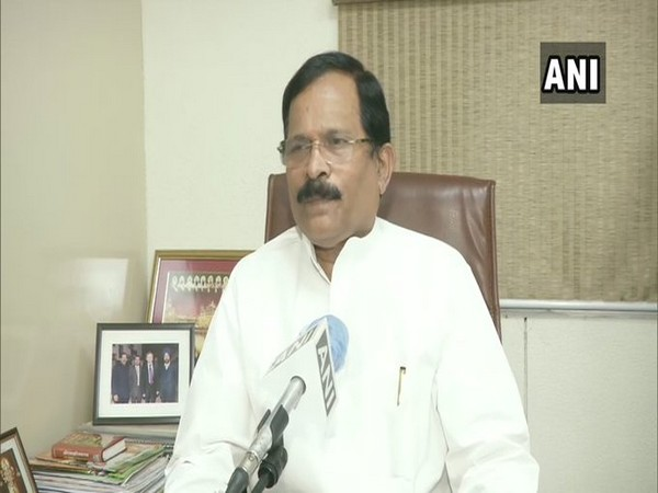 MoS for Ayush Ministry Shripad Naik speaking to ANI in New Delhi on Wednesday. [Photo/ANI]