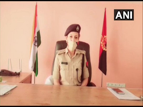 Vrinda Shukla, Deputy Commissioner of Police (Women Security), Gautam Buddh Nagar. Photo/ANI