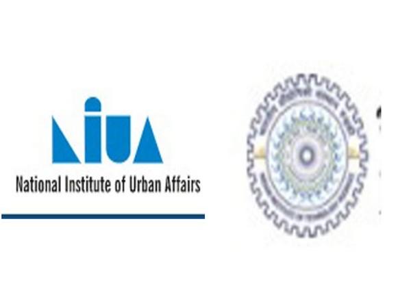 National Institute of Urban Affairs logo (L) IIT Roorkee (R) logos [Photo/ANI]