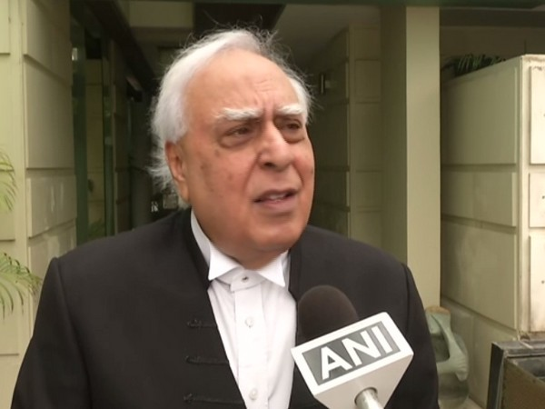 Congress leader Kapil Sibal speaking to ANI in New Delhi on Monday. (Photo/ANI)