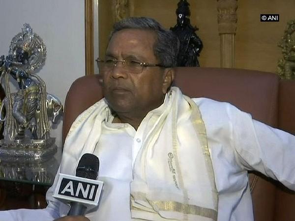 Congress leader Siddaramaiah. File photo/ANI