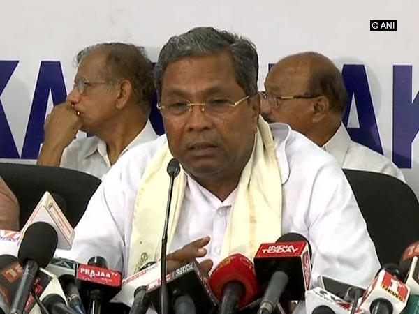 Former Chief Minister and senior Congress leader Siddaramaiah
