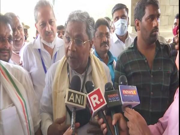 Former Karnataka CM Siddaramaiah (Photo/ANI)