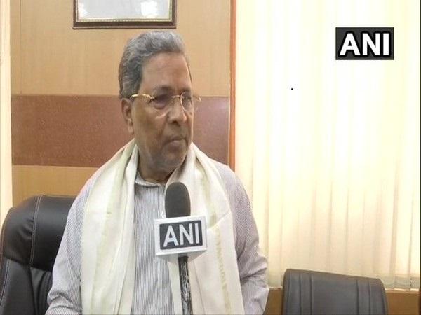 Karnataka Leader of Opposition Siddaramaiah (File photo/ANI)