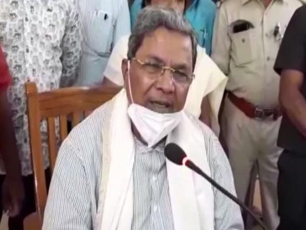 Former Karnataka Chief Minister and Congress leader Siddaramaiah (File Photo)