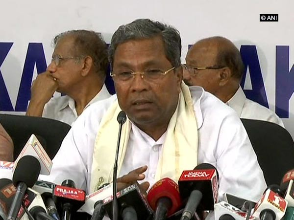 Former Karnataka chief minister Siddaramaiah (file photo)
